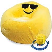 Fashion Angels 12139 Inflatable Chair Set-Emoji