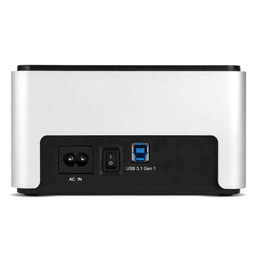 OWC Drive Dock USB 3.1 Dual Drive Bay Solution for 2.5'' and 3.5'' SATA Drives by OWC