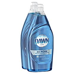 Dawn Ultra Dishwashing Liquid Dish Soap Original Scent, Two 21.6 Oz Bottles