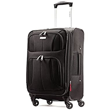 Samsonite Aspire Xlite Expandable 20 Carry On Luggage, Black