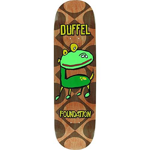 Foundation Duffel Barkee Skateboard Deck -8.5 - Assembled AS Complete - Duffel Skateboards Foundation