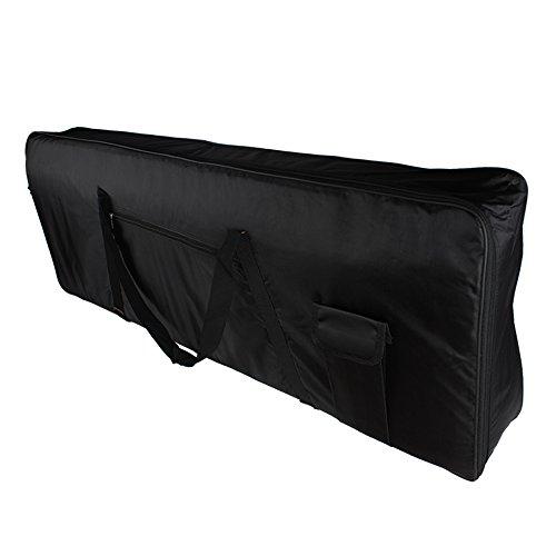 Z ZTDM Electric Piano Keyboard Nylon Case Gig Bag with St...