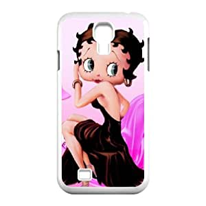 YYCASE Customized Colorful Betty Boop Pattern Protective Case Cover Skin for Samsung Galaxy S4 I9500 Phone Case