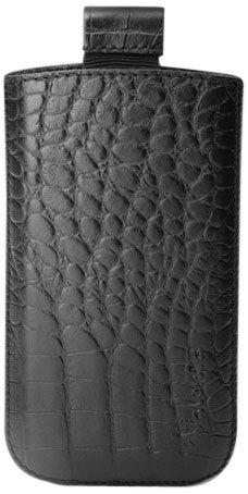 Croco Pocket - Valenta Pocket Croco High-Quality Leather Case Black