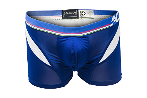 Andrew Christian Men's Show-It Sports and Workout Boxer, Royal, Small by Andrew Christian