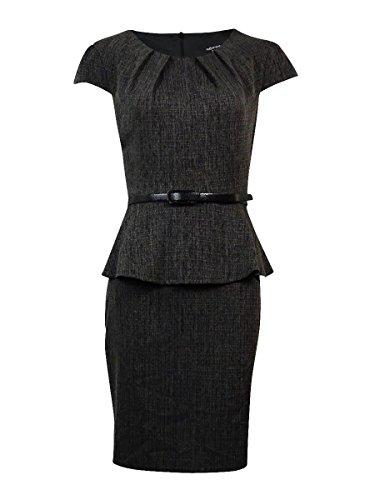 Buy belted peplum sheath dress - 3