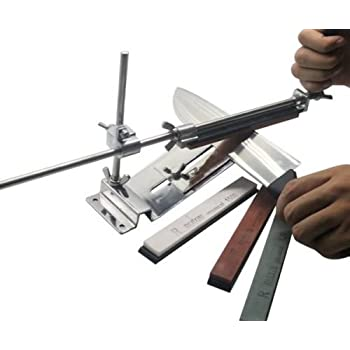 Amazon.com: Cuchillo Afilador Cocina Profesional Sistema fix ...