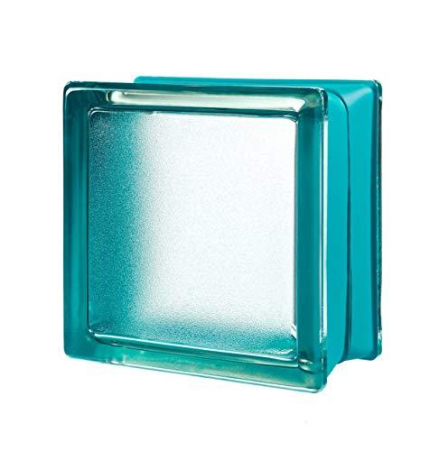 6x6x3 Mini Mint Arctic Classic Glass Block -6 pk by Generic