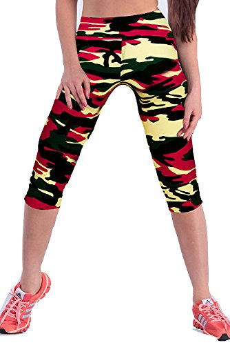 Womens Colorful Workout Leggings Stretchy product image