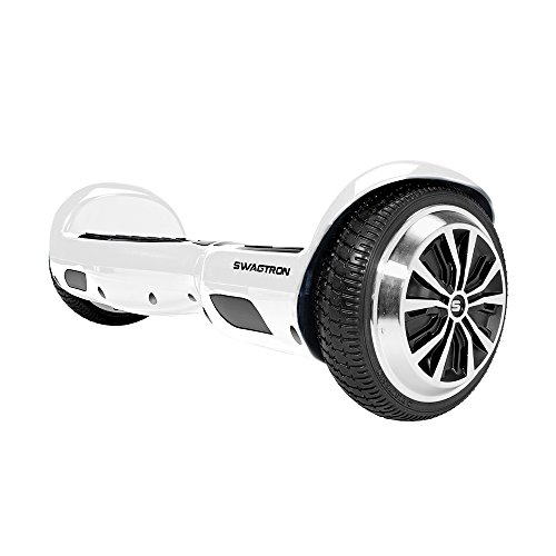 SWAGTRON T1 - UL 2272 Certified Hoverboard - Electric Self-Balancing Scooter - Your swag personal transporter awaits you. (White)