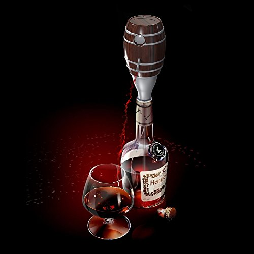 Wine Aerator decanter, EVERTOP Electric Barrel ...