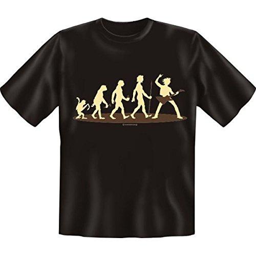 Fun T-shirt Musiker Fb schwarz