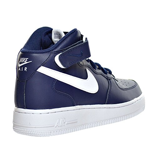 '07 Homme D Force Nike 1 M 315123 White Chaussures 407 US Midnight Navy 12 Mid Air gSYdxwq