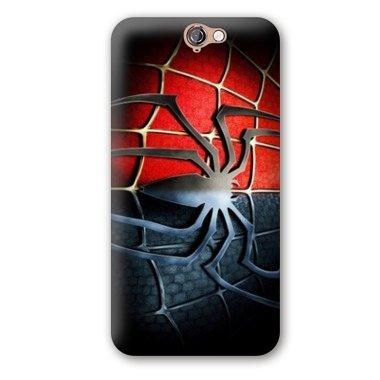 Case Carcasa HTC One A9 superheros - - spiderman noir -