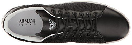Armani Jeans zapatos zapatillas de deporte hombres nuevo negro