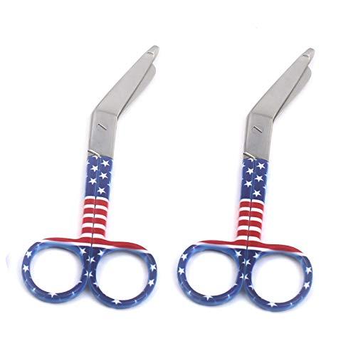Set of 2 Lister Bandage Scissors Shears EMT 5.5