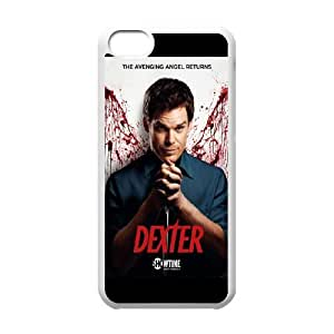 iPhone 5c Cell Phone Case White Dexter Blood OQA Unique Phones Case