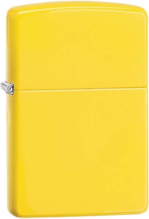 Zippo Lemon Matte Mechero, Metal, Amarillo, 3.5x1x5.5 cm: Zippo: Amazon.es: Hogar