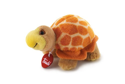 Trudi Turtle – juguetes de peluche (Marrón, Naranja)