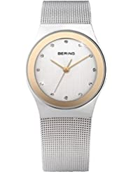BERING Time 12927-010 Womens Classic Collection Watch with Mesh Band and scratch resistant sapphire crystal. Designed...
