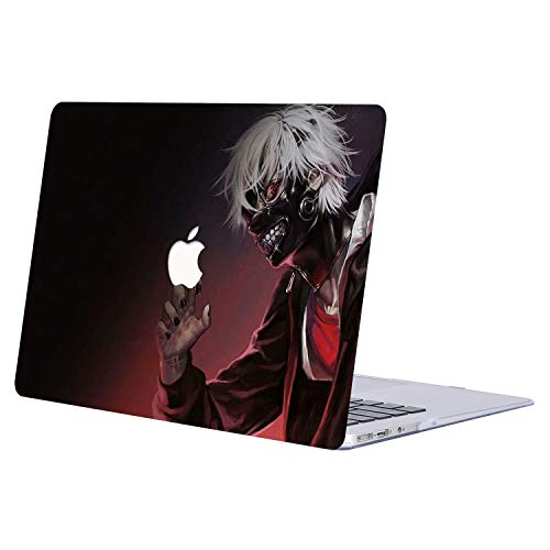 MacBook Pro 13 Case 2019 2018 2017 2016 Release A2159/A1989/A1706/A1708, AJYX Anime Pattern Plastic Hard Shell Cover for Newest MacBook Pro 13 Inch with/Without Touch Bar - JR156 Tokyo Ghoul (The Best Anime 2019)