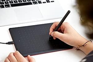Wacom One by Small Tableta digitalizadora 2540 líneas por Pulgada 152 x 95 mm USB Negro - Tableta gráfica (Alámbrico, 2540 líneas por Pulgada, 152 x ...