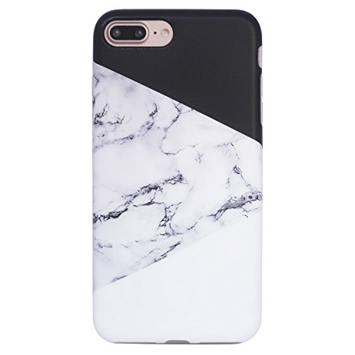 Marble iPhone 7 Plus Case for Girls,iPhone 8 Plus Case, YAR,JA Full  Protection Anti,Scratch Shock Proof TPU Case for Apple iPhone 7 Plus \u0026  iPhone 8