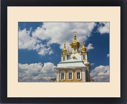 Framed Print of Russia, Saint Petersburg, Peterhof, Grand Palace, chapel wing by Fine Art Storehouse