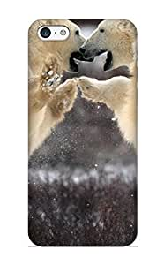 meilinF000Honeyhoney Tpu Case For iphone 4/4s With Bears Pictures, Nice Case For Thanksgiving Day's GiftmeilinF000