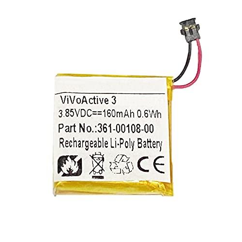 Bateria para Garmin Vivoactive 3 Gps 160mah 361-00108-00