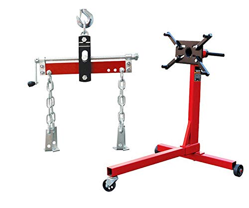 Torin Jack 750-lbs Engine Stand Bundle Engine Leveler, 1,500-lbs. Capacity.
