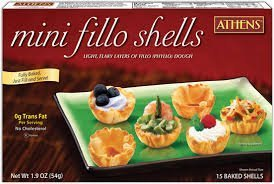 - Athens: Mini Fillo Shells 1.9 Oz (8 Pack)
