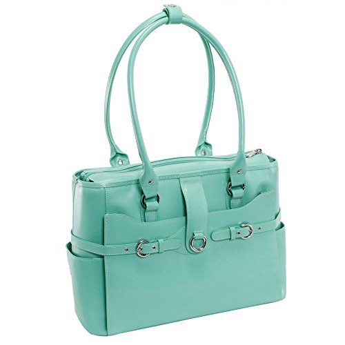 Women's Briefcase Tote, Leather, 15.6