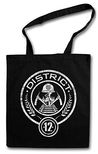 Reutilizables Del De Mocking Bolsas Tribute Games Los 12 – Von Panem Jay Hunger District La Hambre Districts Juegos Urban Backwoods Compra qaI0w