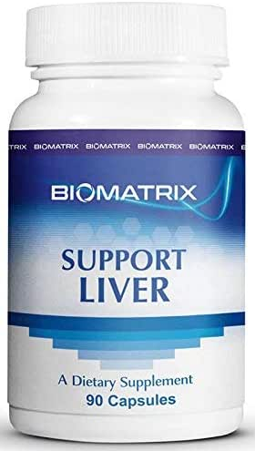 Support Liver (90 Capsules) - Liver Cleanse and Detoxification Supplement with Methionine, Taurine, Glutathione, Lemon Bioflavonoid Complex, Supports Energy Production