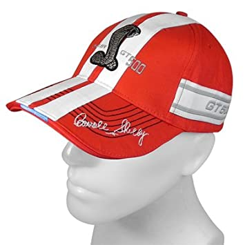 6c8fe1fbd7e503 Ford Shelby GT500 Striped Red Baseball Hat, Interior Accessories - Amazon  Canada