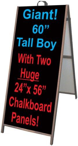 Amazon NEOPlex 25 X 60 Tall Boy Sidewalk Sandwich Board A