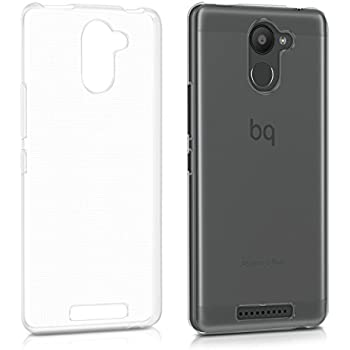 Amazon.com: kwmobile Crystal Case for bq Aquaris C - Soft ...