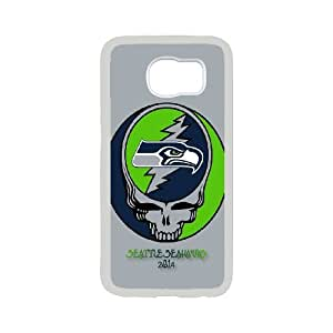 Custom Phone Case With Seattle Seahawks Image - Nice Designed For Samsung Galaxy S6