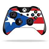 Protective Vinyl Skin Decal Cover for Microsoft Xbox One/One S Controller wrap sticker skins Puerto Rican Flag Review