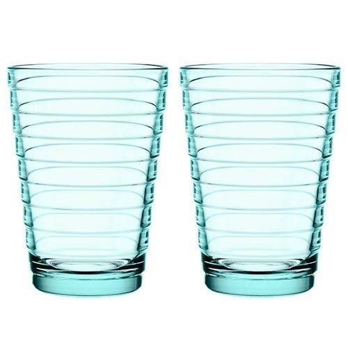 Iittala Aino Aalto Tumbler (set Of 2) 11oz Water Green