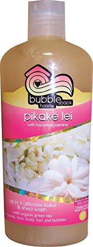 Hawaii Bubble Shack All in 1 Ultimate Kukui & Shea Body Wash Pikake Lei 2 ()