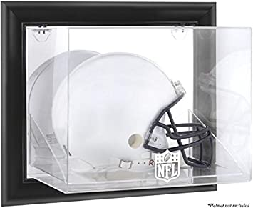 eb41041f Amazon.com : NFL Framed Wall Mounted Helmet Logo Display Case ...