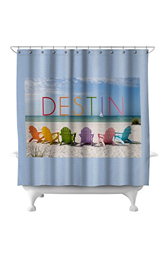 Amazoncom Destin Florida Colorful Beach Chairs 71x74 Polyester