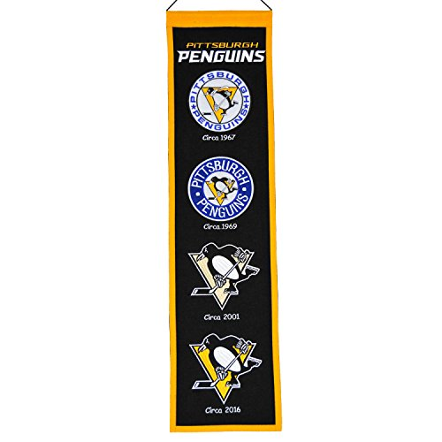 NHL Pittsburgh Penguins Heritage Banner