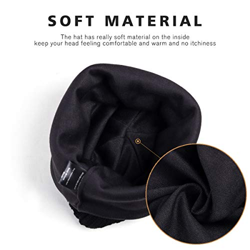 Men Lightweight Beanie Slouch Skull Knit Cap Baggy Winter Warm Ski Hat