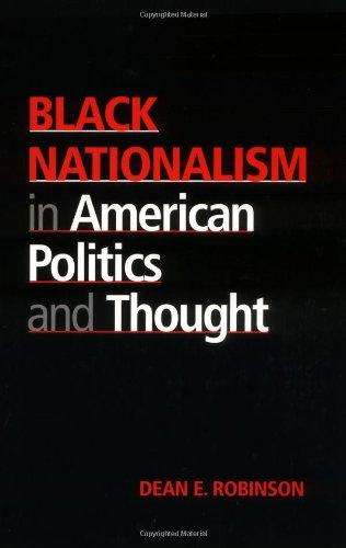 Black Nationalism In Amer.Politics...