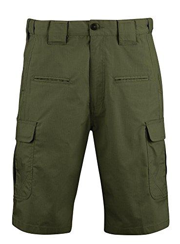 Propper Men's Kinetic Tactical Shorts, Olive, Size 38