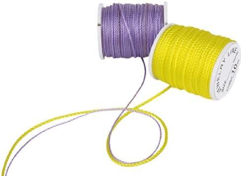 10色 糸 コード 手仕事 ジュエリーコード ジュエリー作り 縫い用 ジュエリーコード 1ミリメートル
