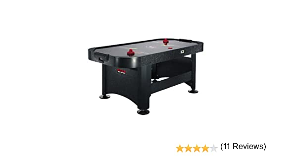 Mesa de air hockey Riley con 2 x lanzadores y 2 x discos: Amazon ...